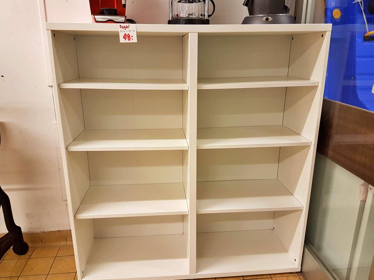 Wohnmöbel IKEA Regal weiss
