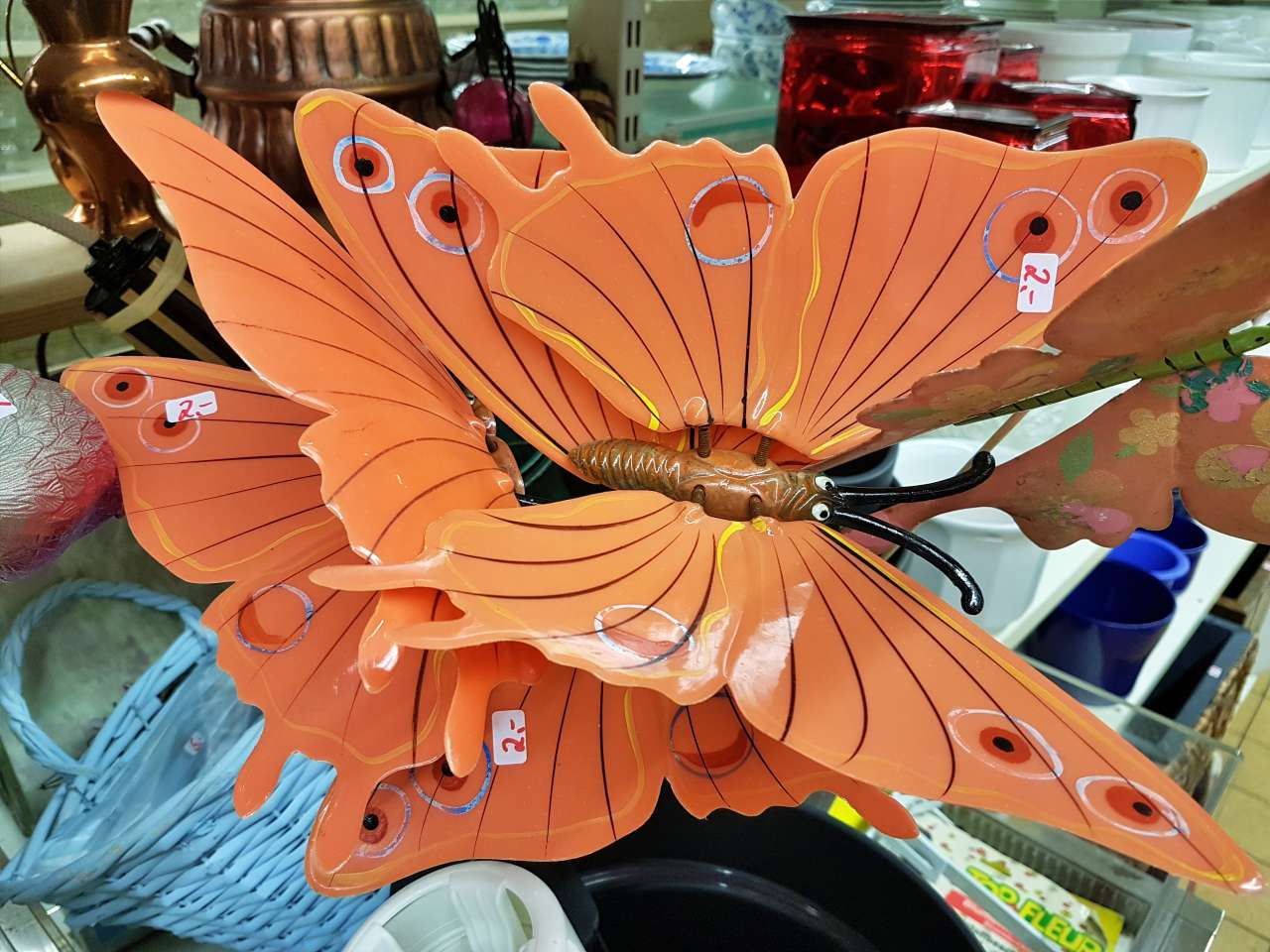 Dekoration Schmetterlinge