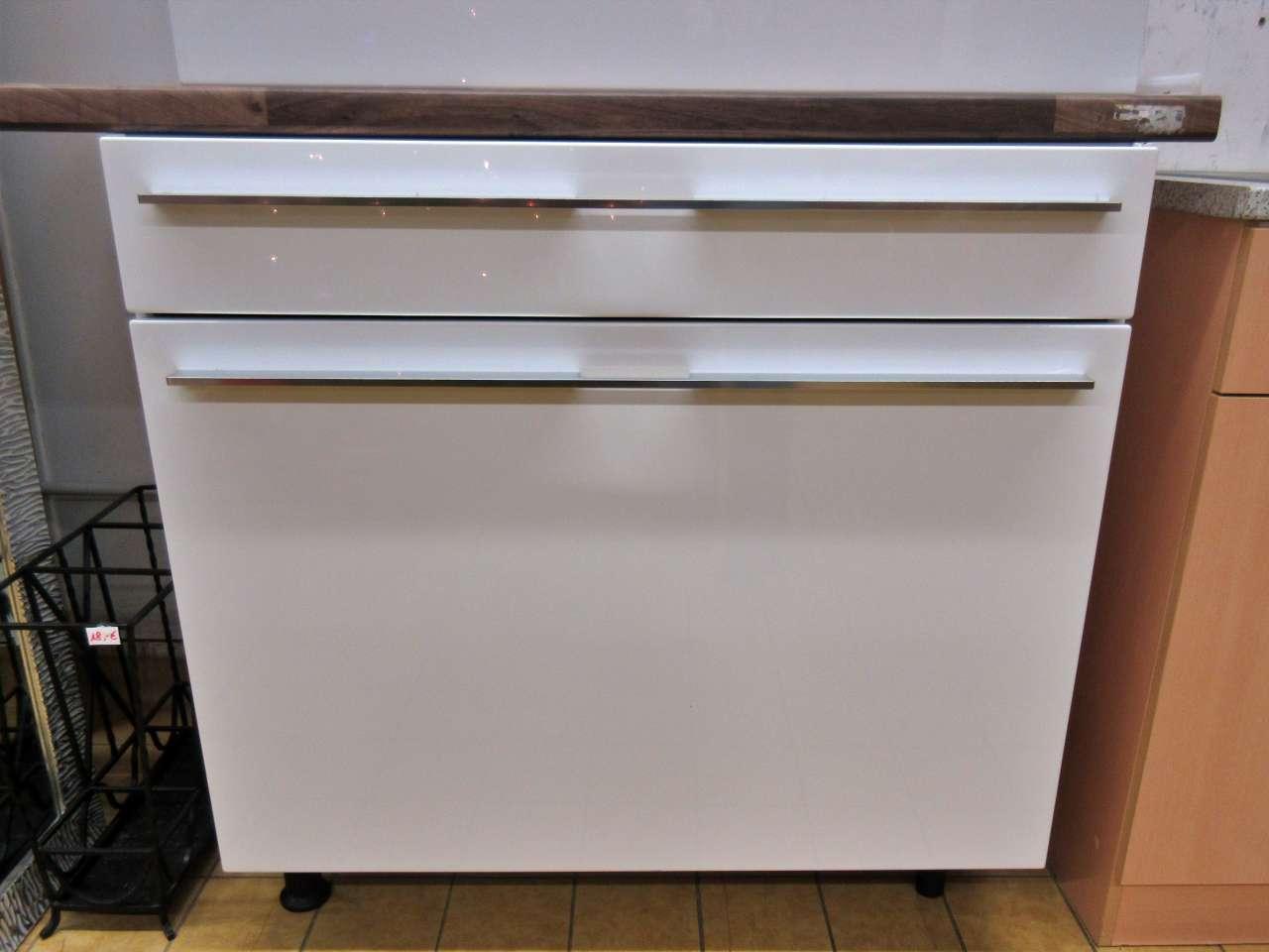 Möbel Küchenschrank Badmöbel Hochglanz weiss