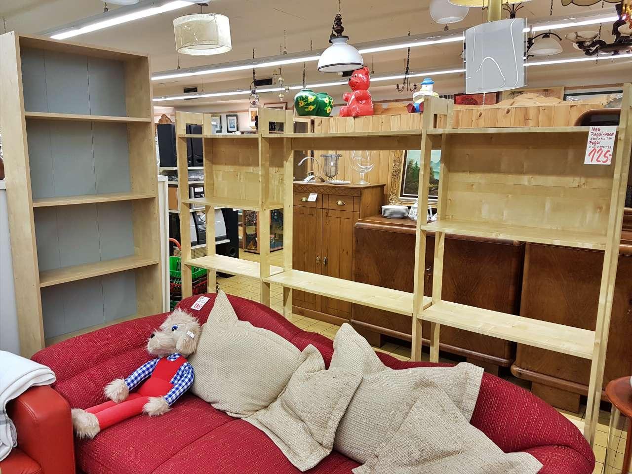 Regalwand Holz natur Ikea