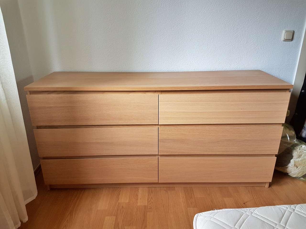 Kommode Holz massiv IKEA modern