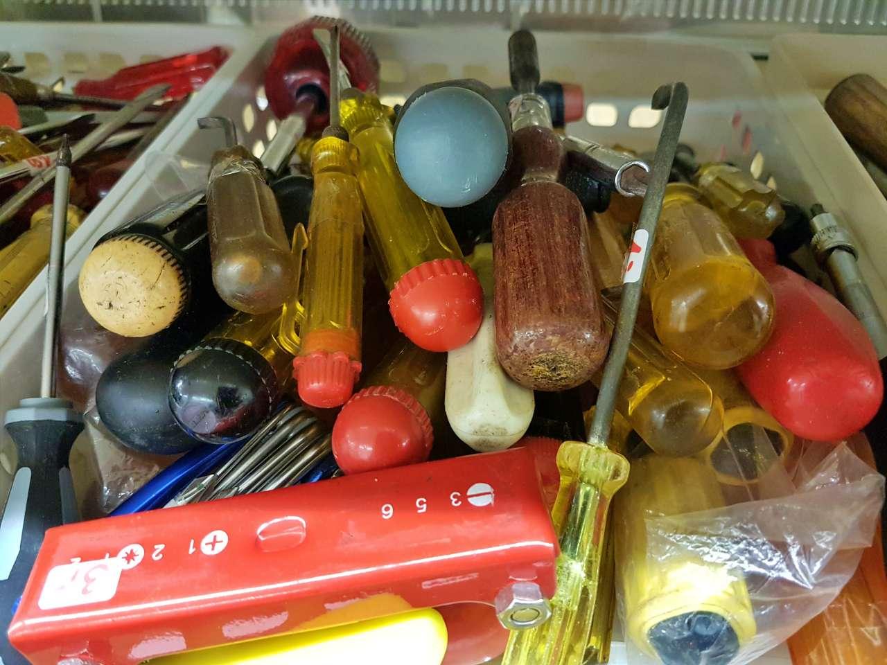 Werkzeuge Schraubendreher große Auswahl