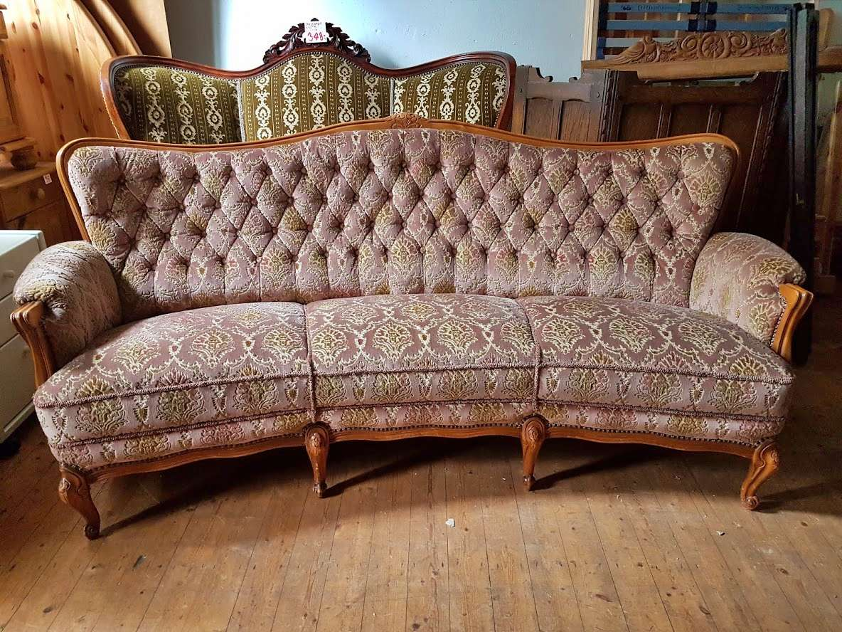 Sofa Biedermeier antik